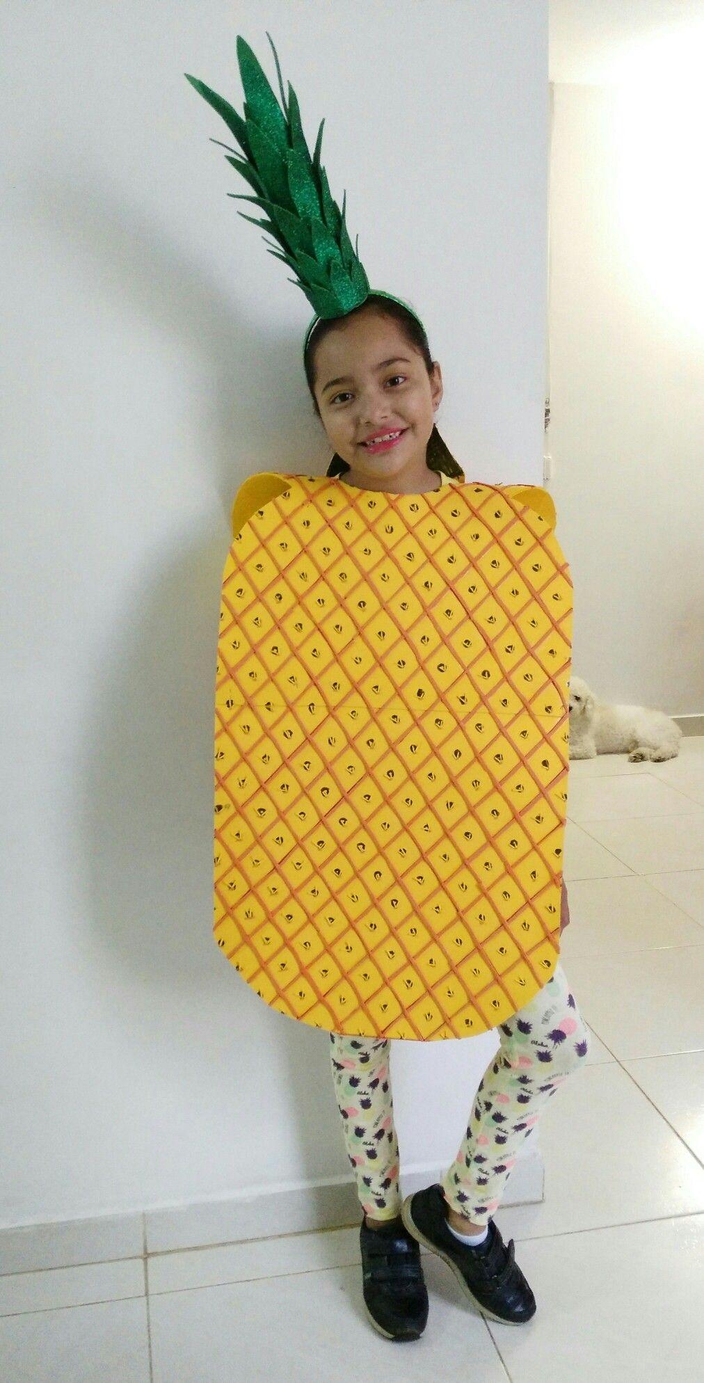 Disfraz piña (Nidia Marin 2017) Halloween costumes for