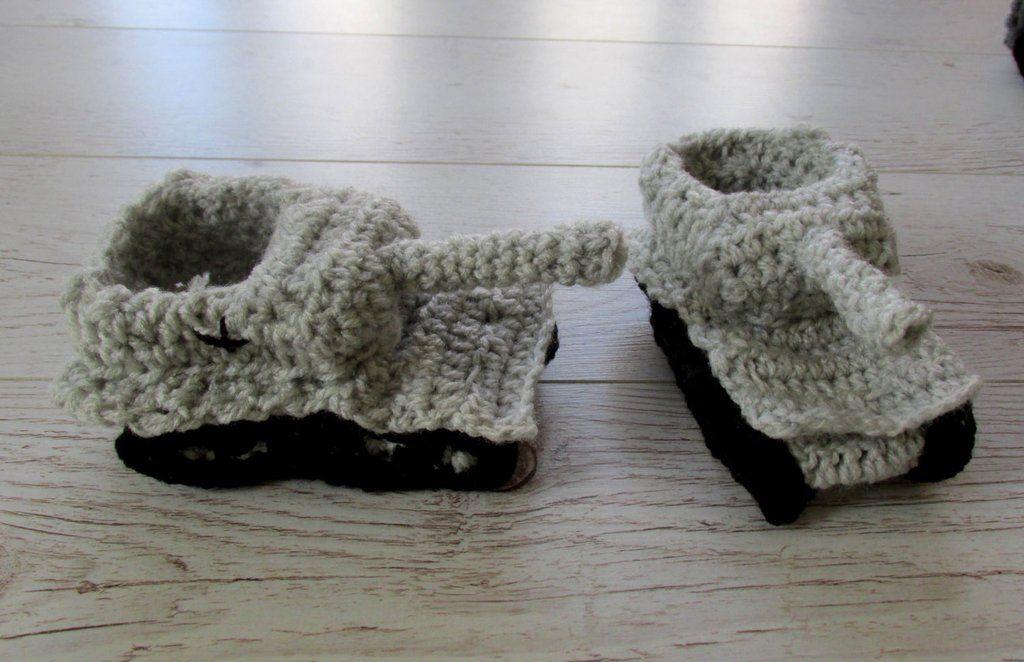 Crochet Tank Slippers For Babies Toddlers Paintcrochet Pinterest
