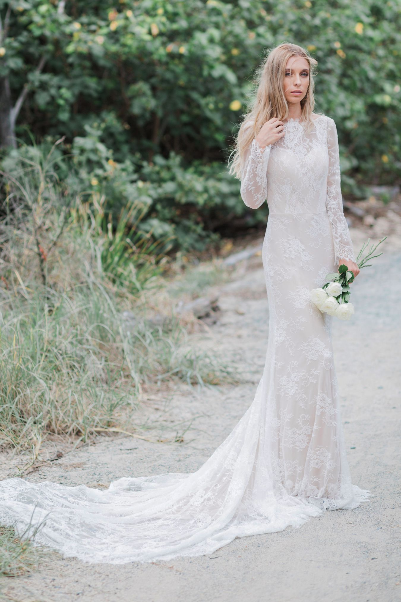 Country high low wedding dresses  Selena  Goddess By Nature Australia  Wedding shopping  Pinterest