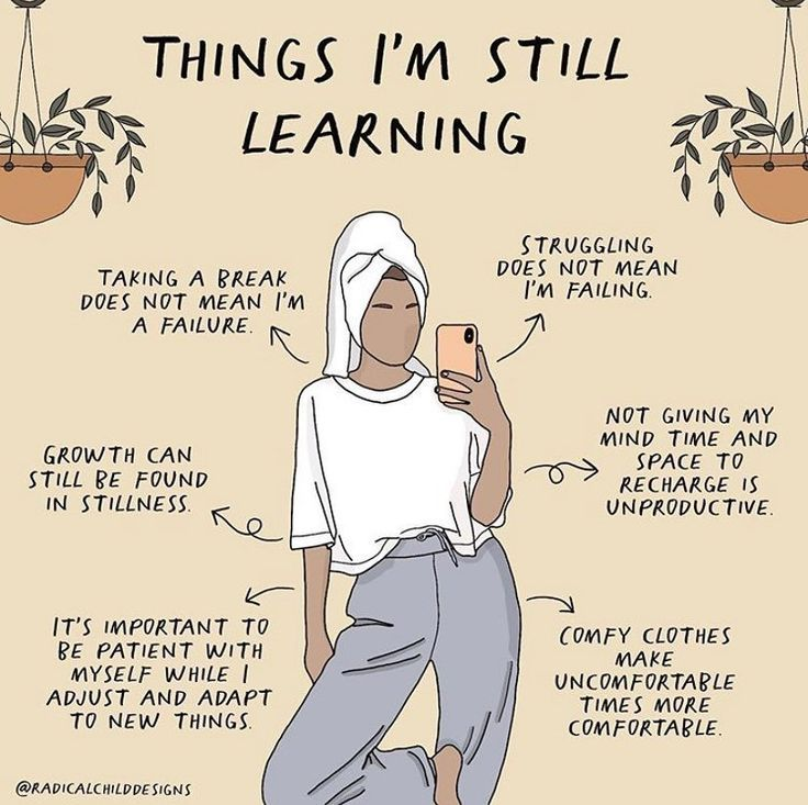 What are you still learning?