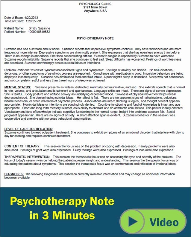 Social Work Case Notes Template Beautiful Psychotherapy