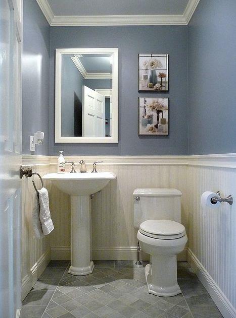 √ 17 Best Bathroom Renovation Using Attractive Bathroom Paint Colors & Schemes images