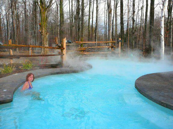 Celebrate Winter At Scandinave Spa Blue Mountain Spa Weekend Blue Mountain Spa Getaways
