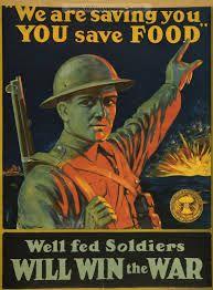 American Wwi Propaganda Poster Regarding Rationing Patriotic Posters Propaganda Posters Vintage Posters