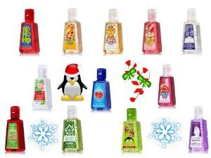 Holiday Bath Body Works Pocketbac Set Of 12 Anti Bacterial Hand
