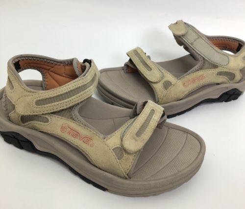 cffeea071f4bb TEVA 6462 Gray Orange Sport Sandals Walking Hiking Shoes Size 6 in ...