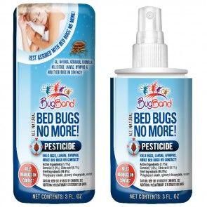 Bed Bugs No More 3oz Repelente De Insectos Insectos