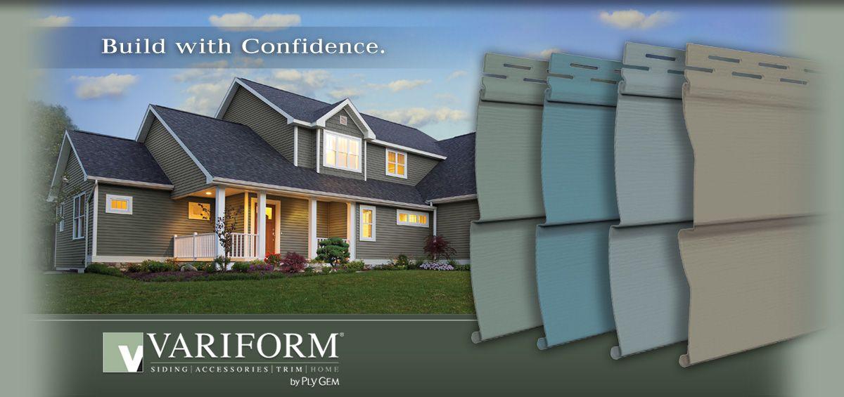 Variform Vinyl Siding Build With Confidence The Designed Exterior Cool Exterior Siding Contractors Concept Decoration