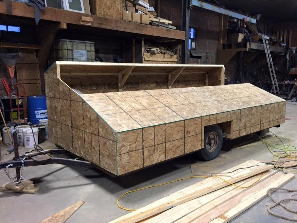 6 Man Trailer Blind Iawaterfowlers Hunting Blinds Hunting