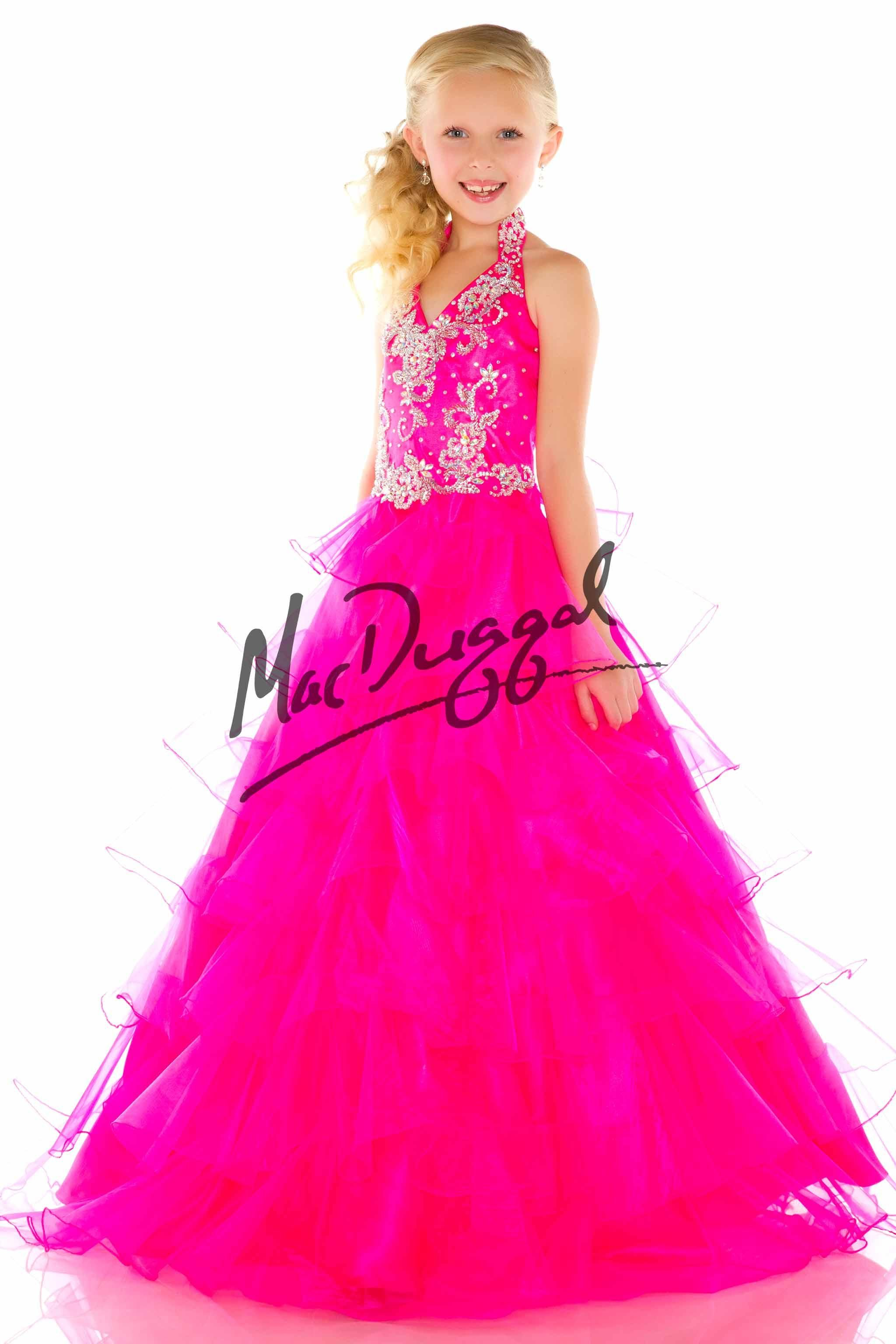 pink pageant dress for little girls - Google Search | María Clara ...