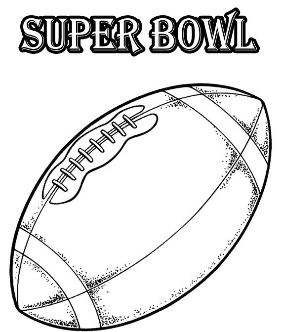 The Ball Of Super Bowl Coloring Pages Football Coloring Pages Coloring Pages Minion Coloring Pages