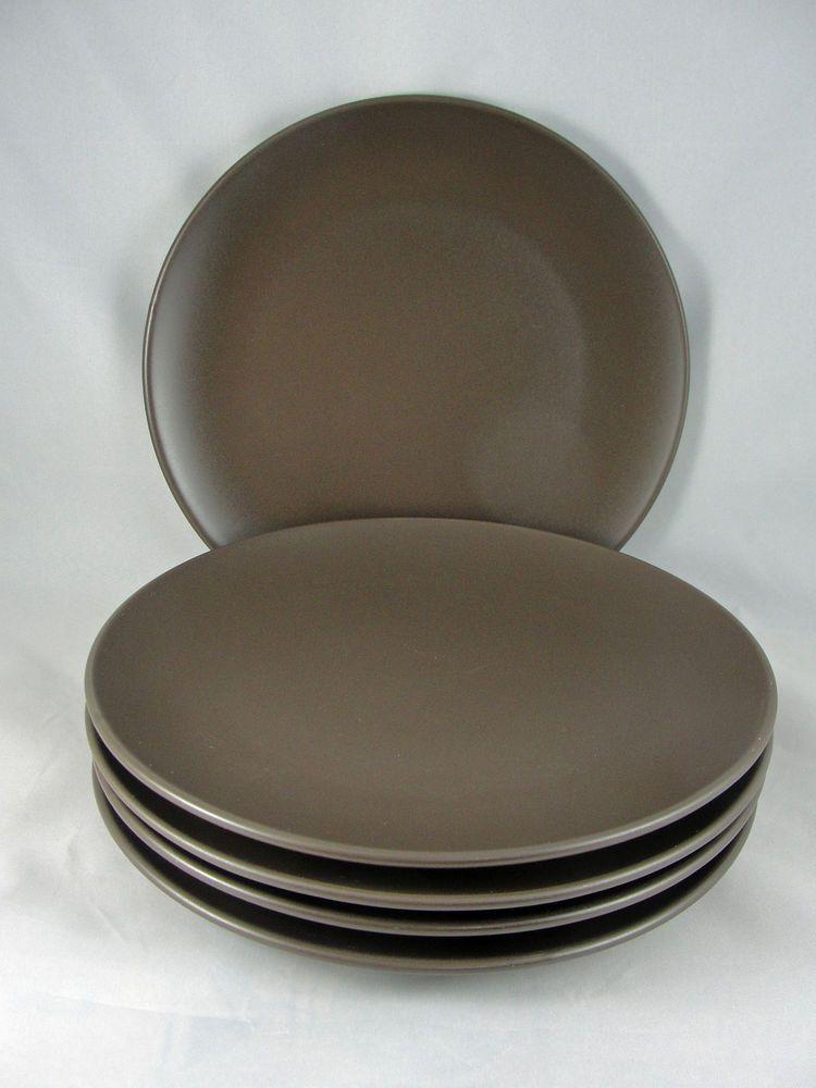 IKEA Dinnerware DINERA BROWN Salad Plate #10866 (Set of 5) #IKEA & IKEA Dinnerware DINERA BROWN Salad Plate #10866 (Set of 5 ...