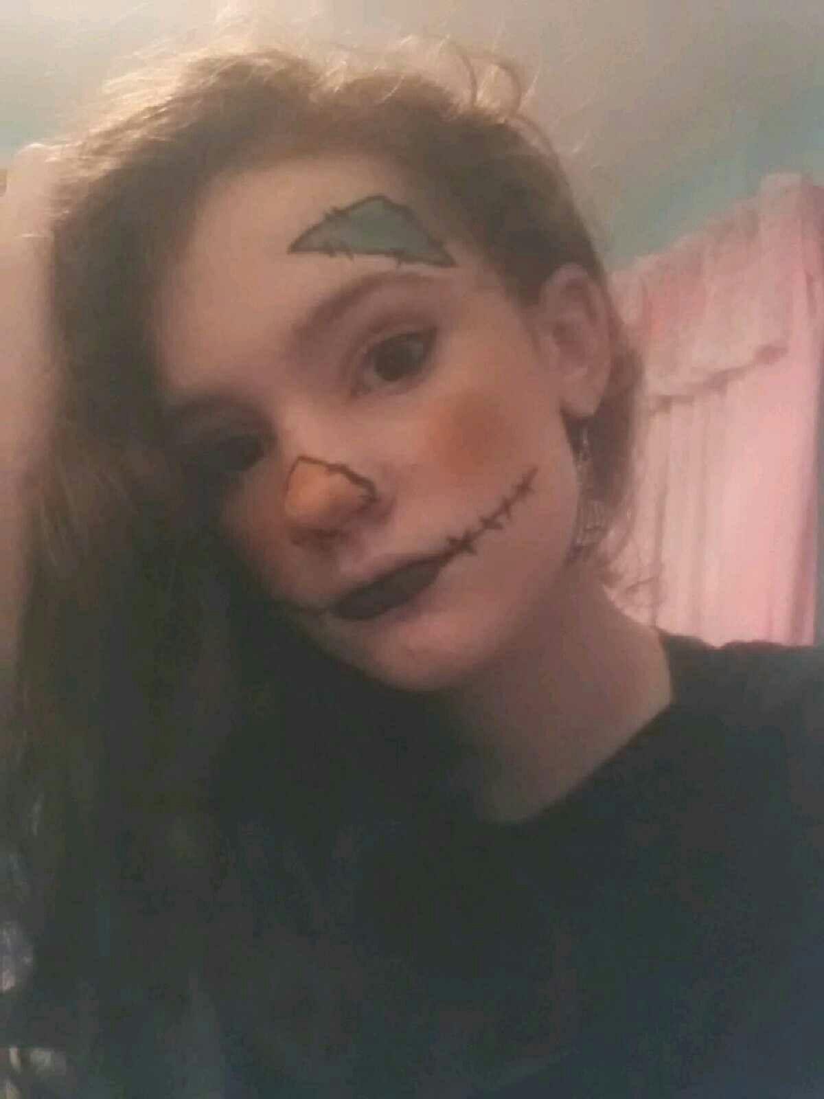 Scarecrow makeup #scarecrowmakeup