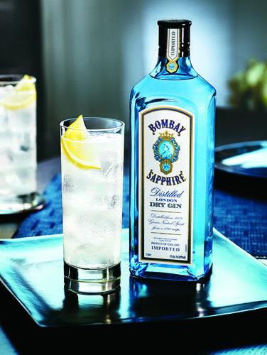 Lavendar Sapphire Collins Gin Cocktail Recipe Bebidas De Verao Gin Tonico Gin
