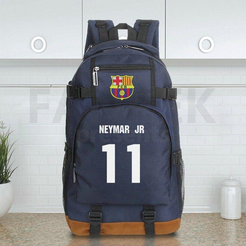 143d1fdb48f9 FC Barcelona Neymar Jr 11 Shoulder Bags Travel Backpack