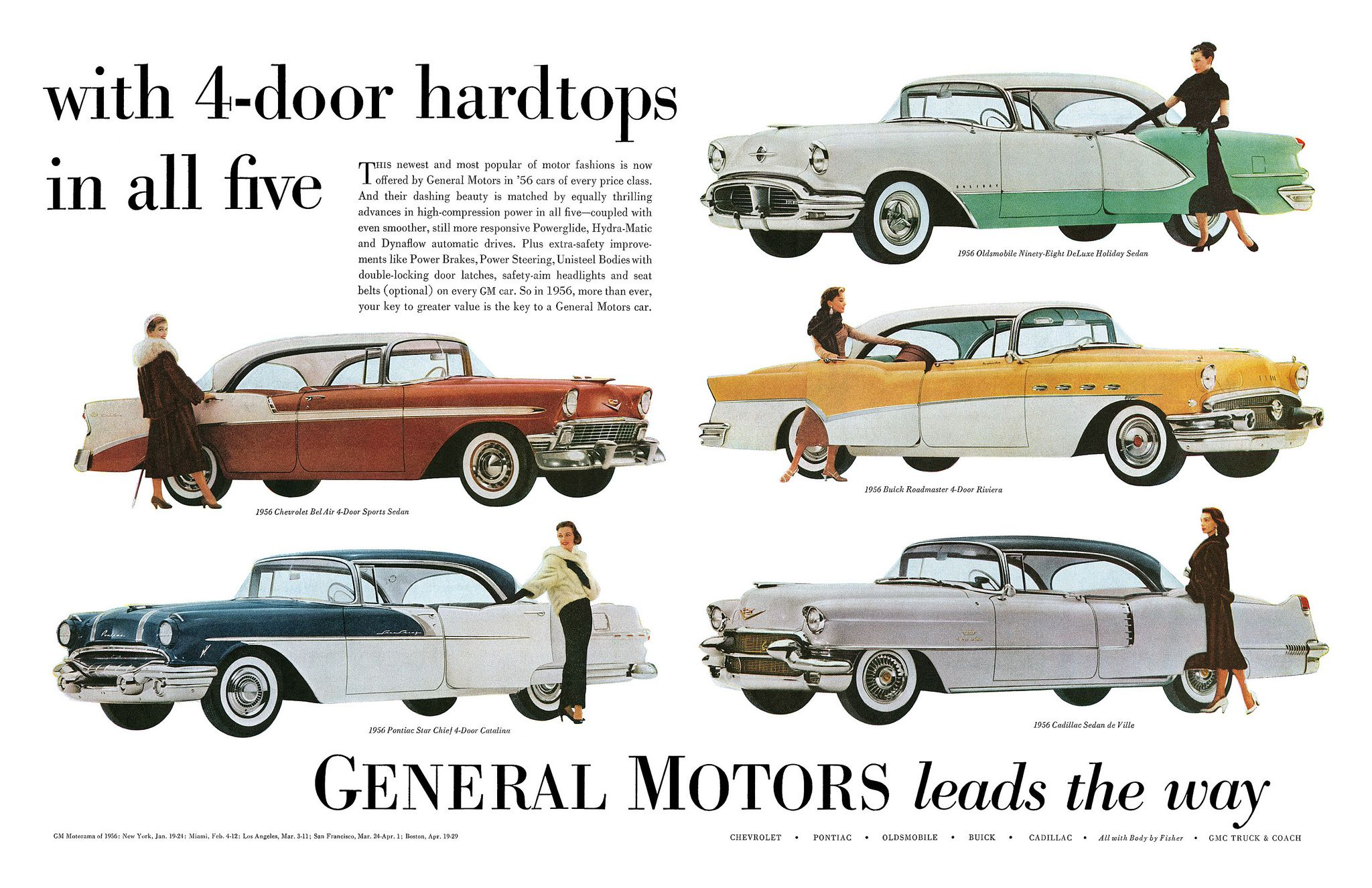 1956 General Motors General motors, Automobile