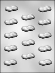 Peanut Shell Chocolate Candy Mold