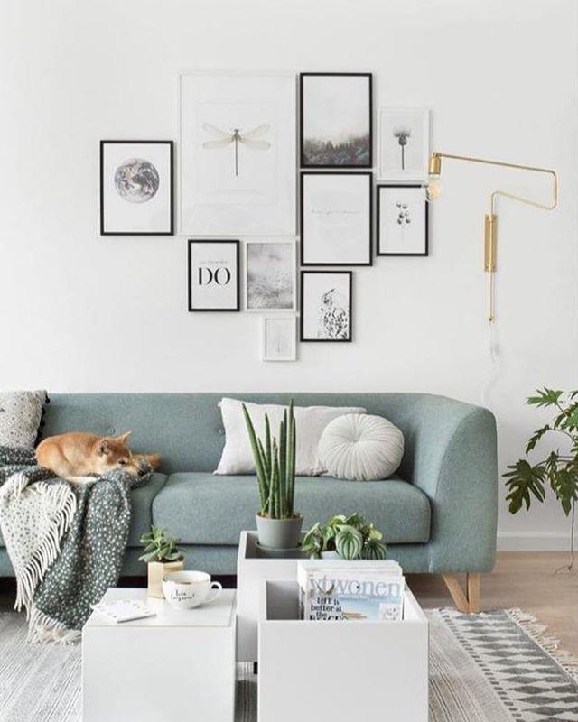 cluster  ikea living room living room scandinavian