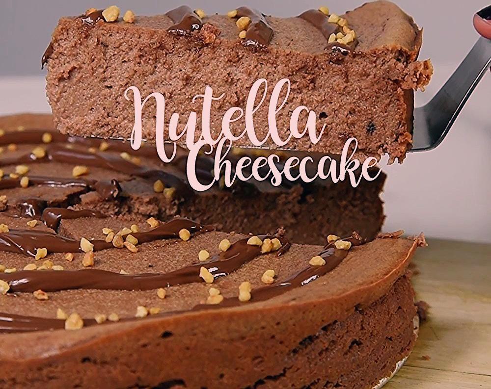 Schoko-Traum: das Rezept für Nutella-Cheesecake Die leckerste Kuchen-Kombi! Der…