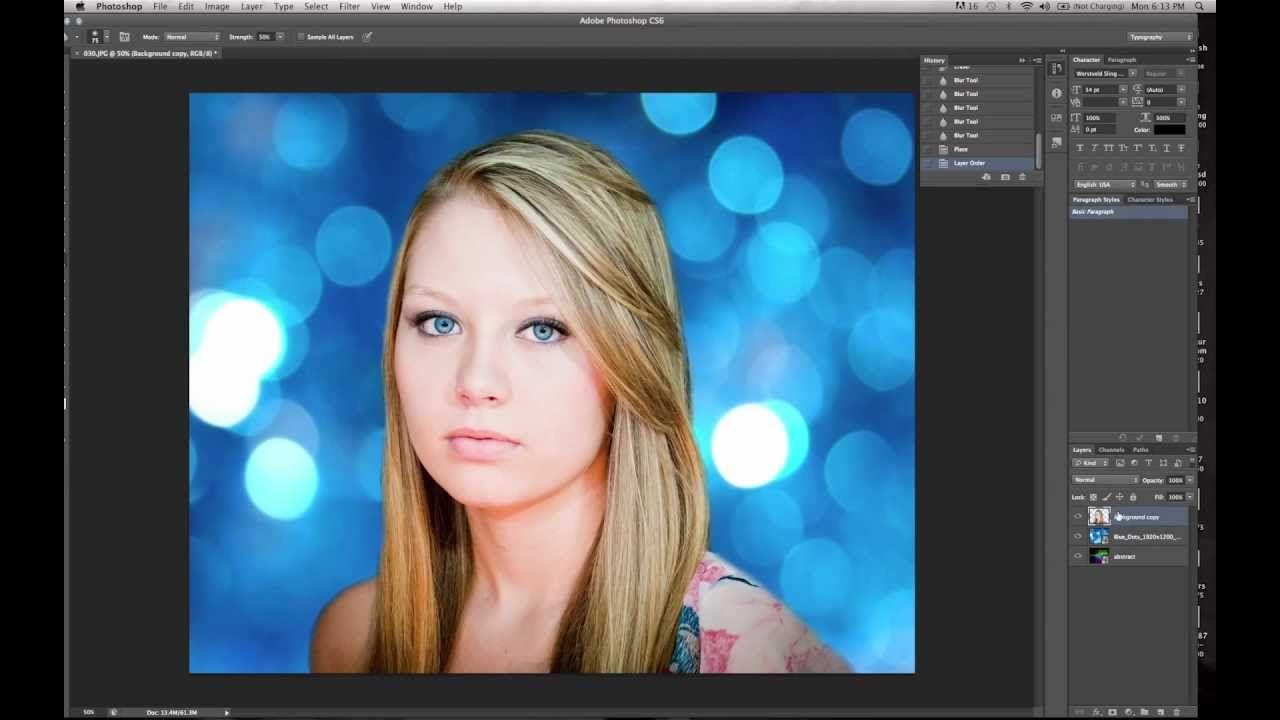 Hintergrund andern photoshop cs6