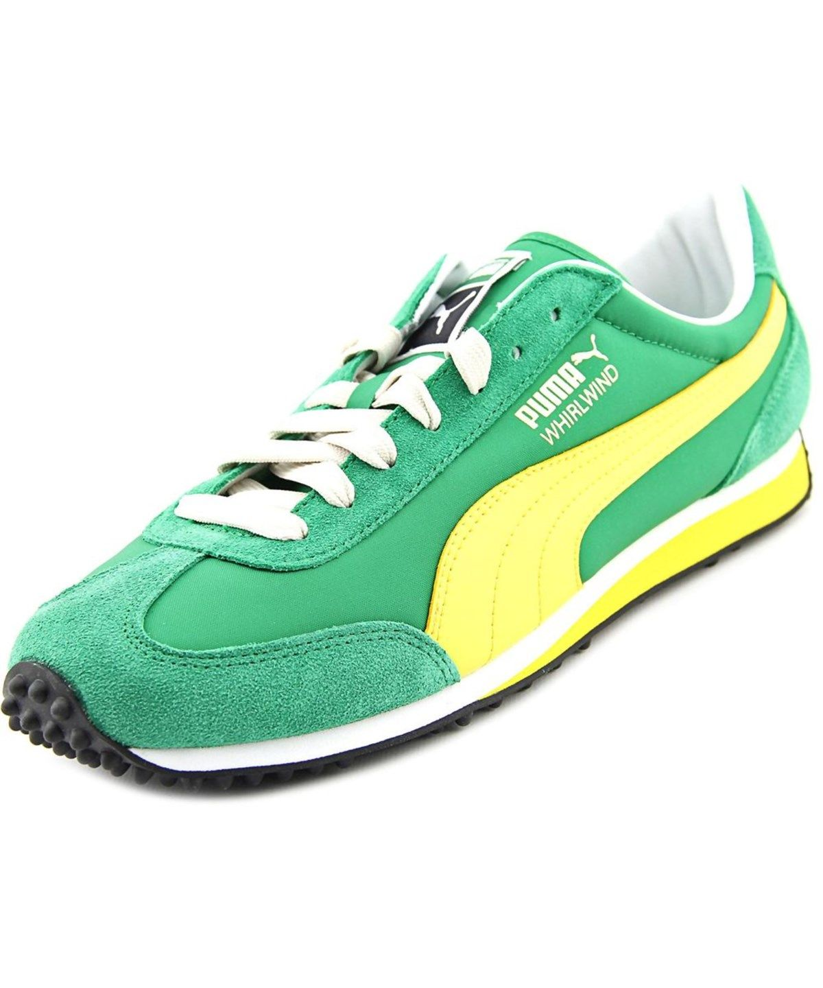 PUMA Puma Whirlwind Classic Men Suede Green Fashion Sneakers .  puma  shoes   sneakers 537f671dd