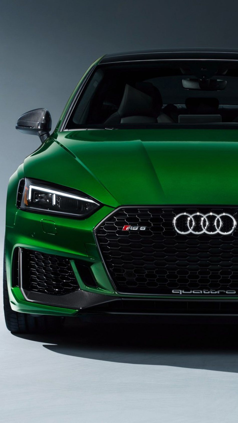 Download Greem Audi Rs 5 Sportback Free Pure 4k Ultra Hd
