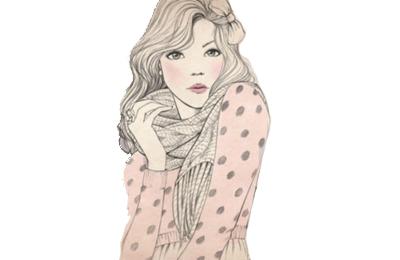 Vintage Girl Fashion Drawing Google Search Vintage Girls Fashion