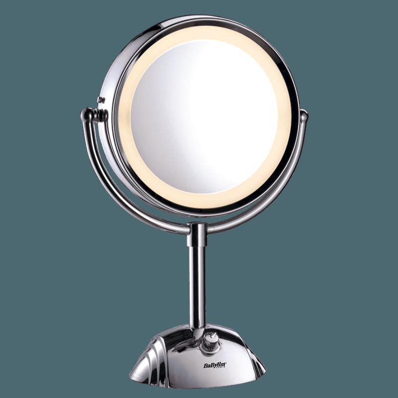 Miroir lumineux DOUBLE FACE GROSSISSEMENT X8 - BaByliss