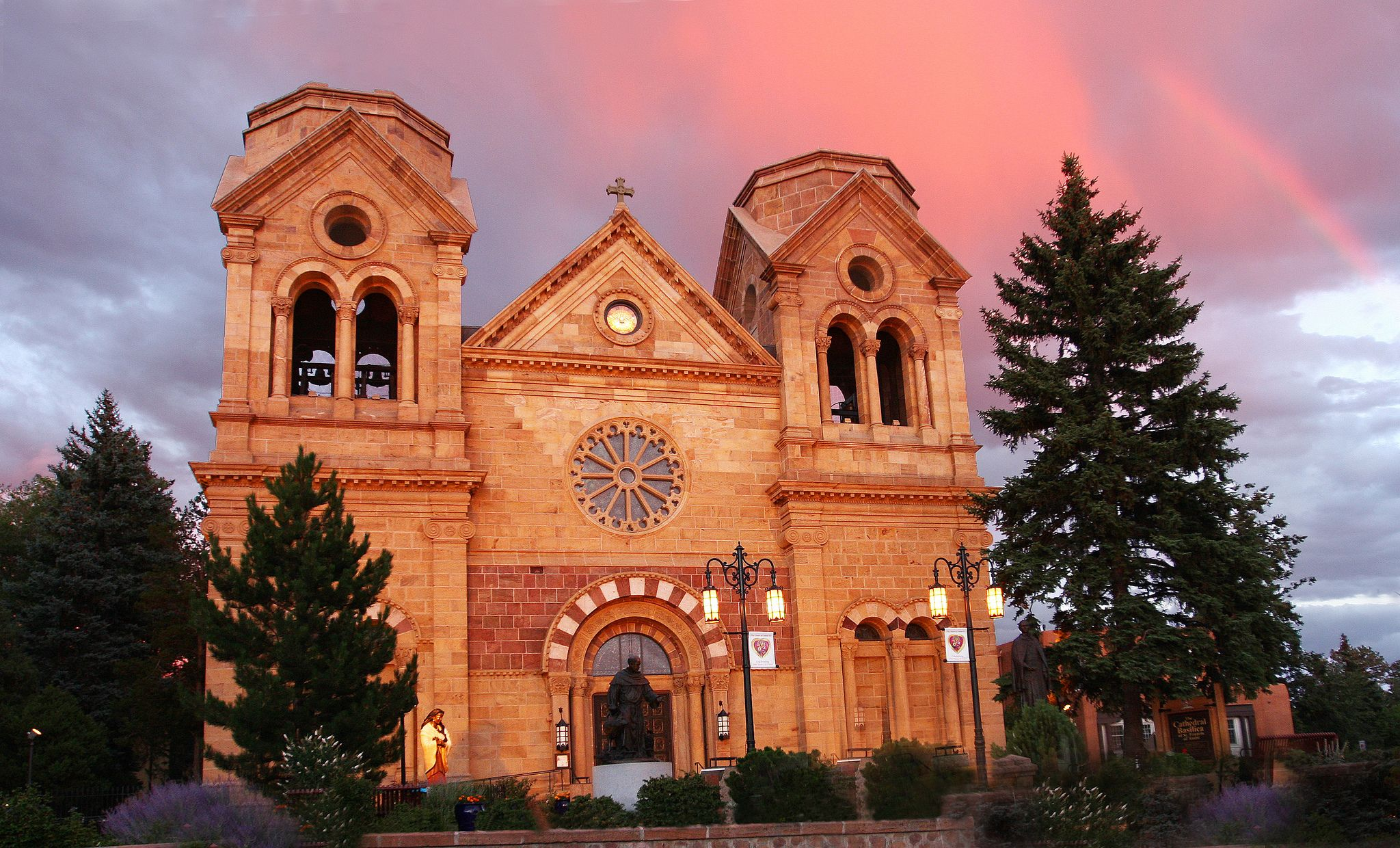 These 14 Churches In New Mexico May Just Leave You Speechless Cathedral Basilica New Mexico Tourism New Mexico
