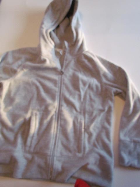 6.72$  Watch here - http://vizay.justgood.pw/vig/item.php?t=twzpkk19641 - Unlisted Gray Hoodie XXL Zipper Front Fuzzy Cozy Warm 6.72$