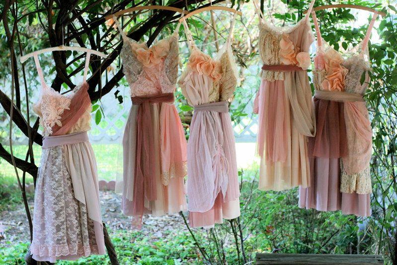 Custom Bridesmaids Dresses by ArmoursansAnguish on Etsy https://www.etsy.com/listing/104795933/custom-bridesmaids-dresses