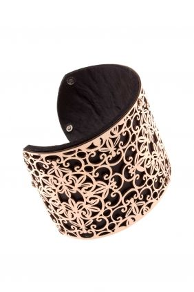 maya I rose #gold plated stainless steel #cuff I designed for NEW ONE I NEWONE-SHOP.COM