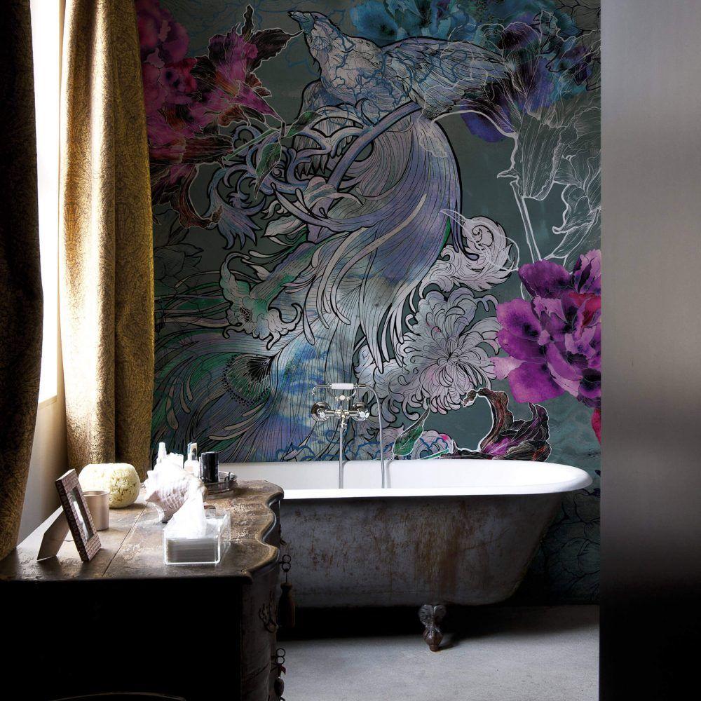 Wall&Decò Wet System 15 Mystical Dreams Powder room