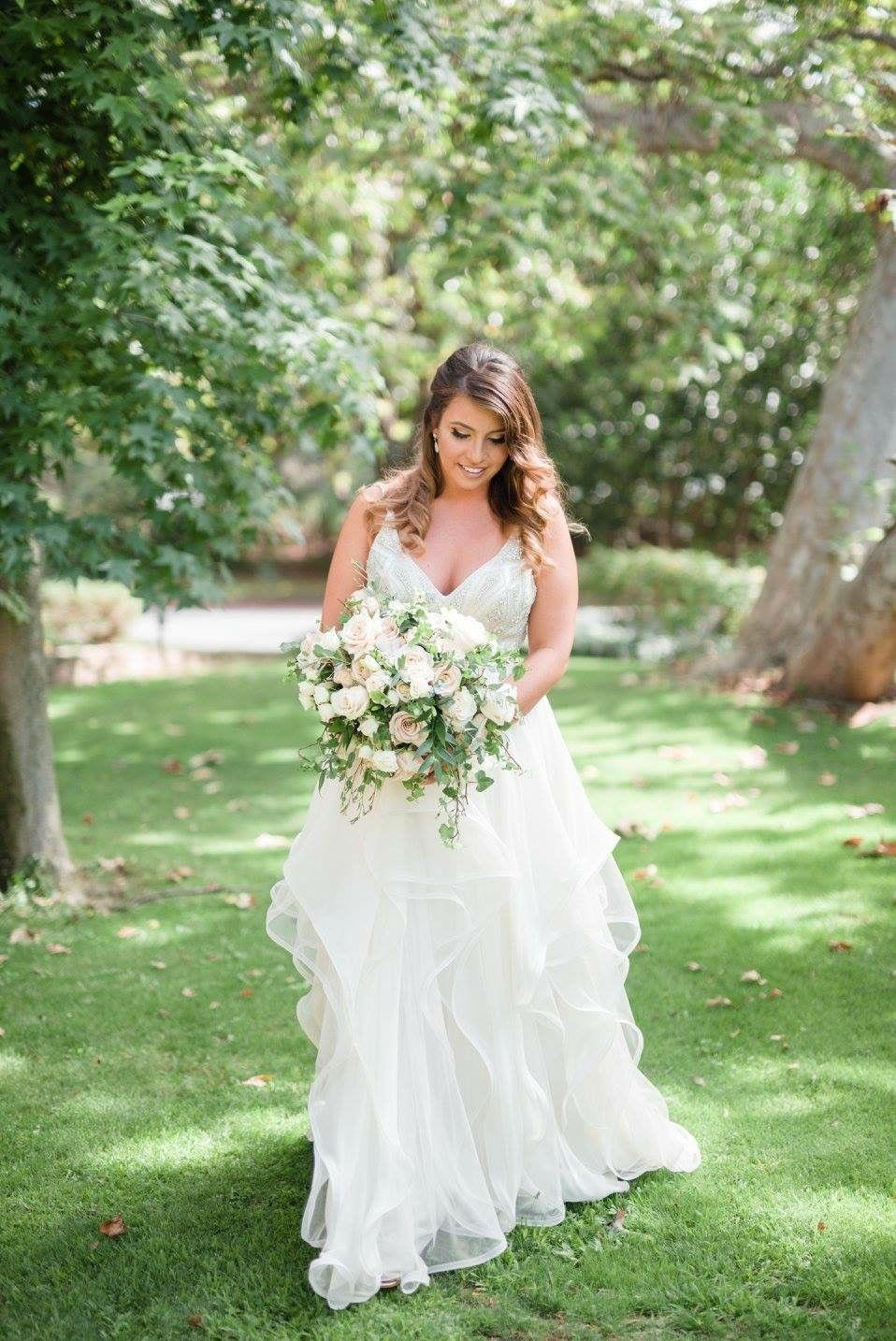 second hand wedding dress Hayley Paige Luca Roxanne HP HP Second Hand Wedding Dress Still White Australia