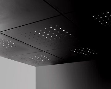 Modern Ceiling Tiles Lighted By High End
