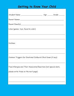 Parents Know Your Special Education >> Special Education Parent Survey Teacher Ideas Parent Survey