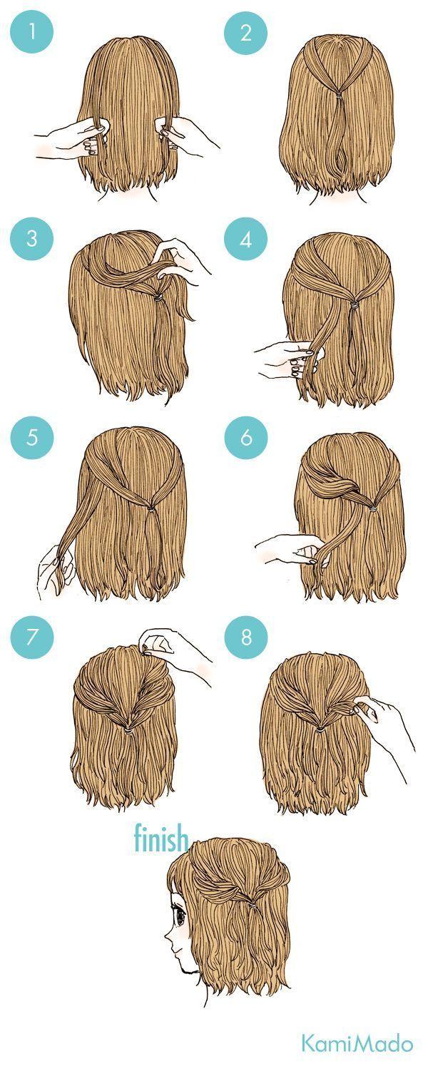 16 + Delightful Frisuren Tutorial-Ideen – # 16 #Delightful #Frisuren #Ideen #T …