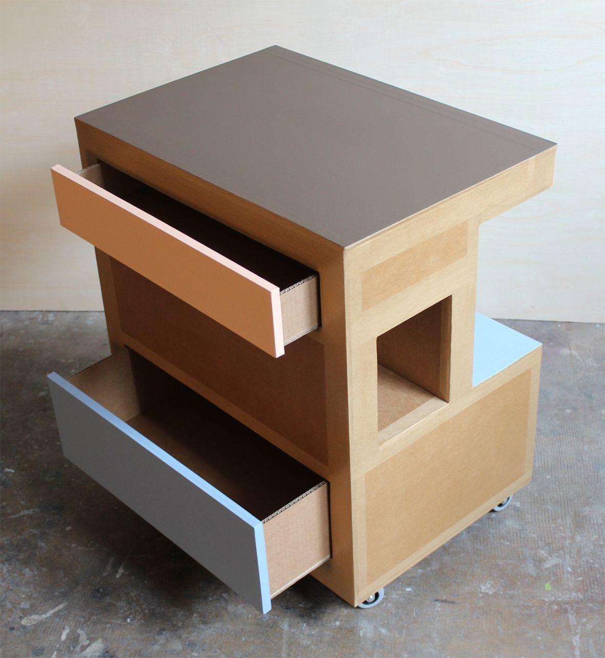 Blog Sur Les Meuble En Carton Design Mobilier Original Pour L  # Frank Gehry Muebles De Carton