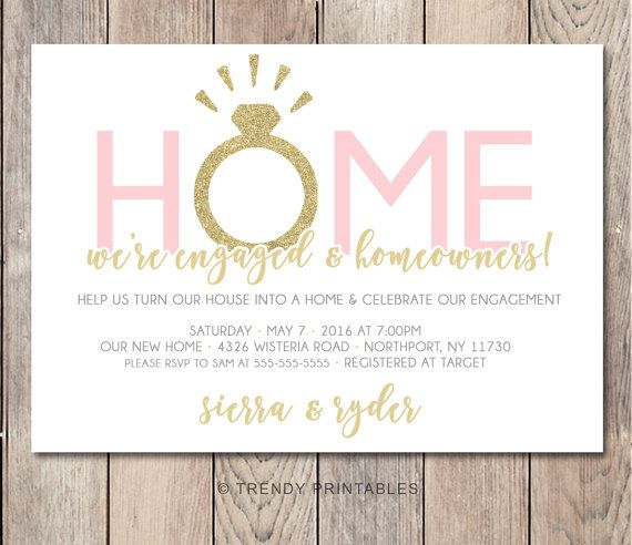 wwwetsy listing 269594509 engagement-party-invitation - engagement party invites templates