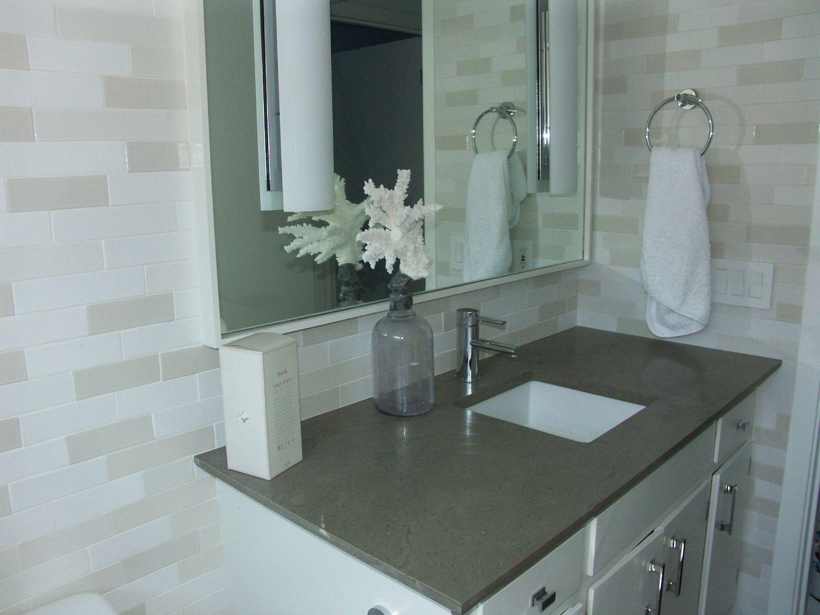 Heath full bathroom random pattern | Onga\'s Tile | Pinterest