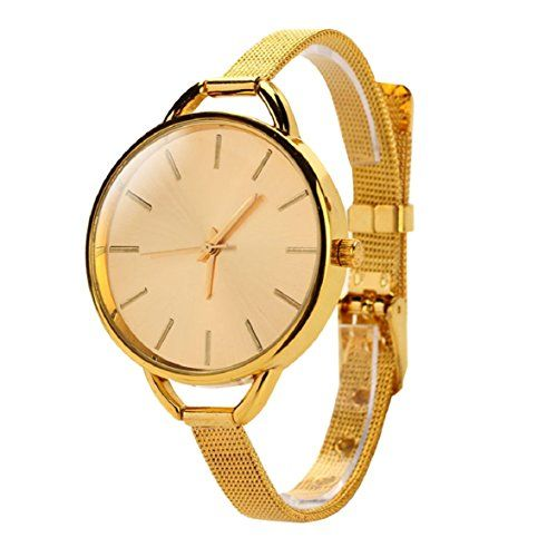 Shensee Luxury New Girls Women Ladies Analog Stainless Quartz Bracelet Wrist Watch Gold -- Find out more about the great product at the image link.Note:It is affiliate link to Amazon.