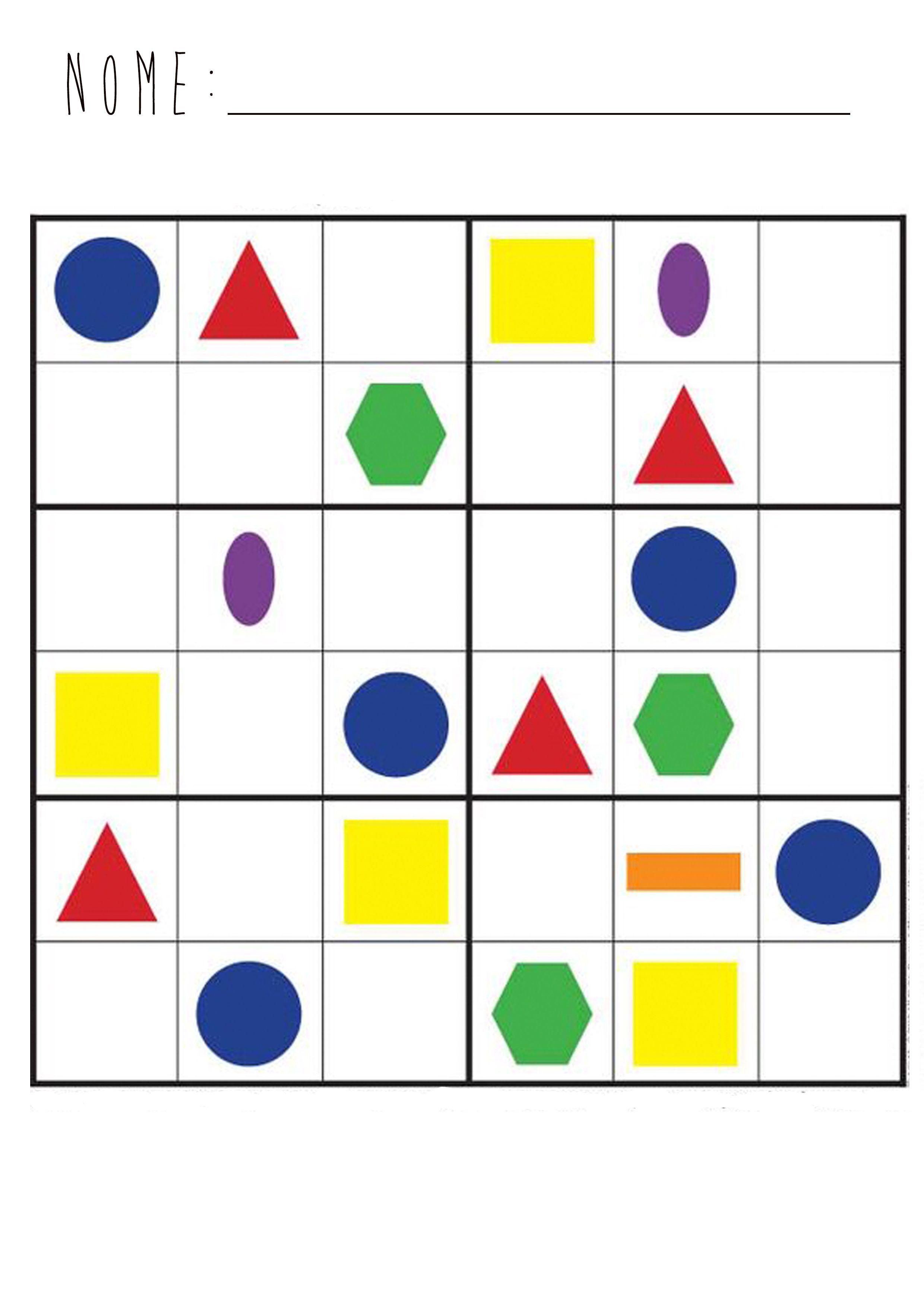 Pin De Zea Mays En Sudoku For Kids