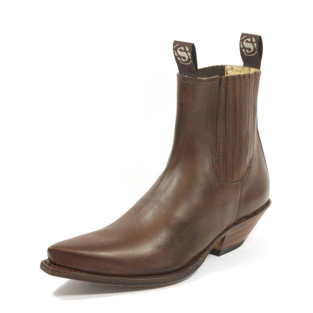 f81625b551b99 boots cuir sendra 1692 cuervo sprinter tang SENDRA