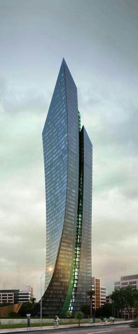 Hochhaus Moderne Architektur Drechseln Russland Architekten Zukunft Rund Ums Haus Runde Fassaden