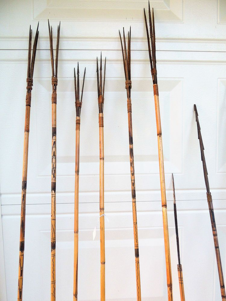 Details About Antique Very Old Bamboo Dipping Fishing Pole