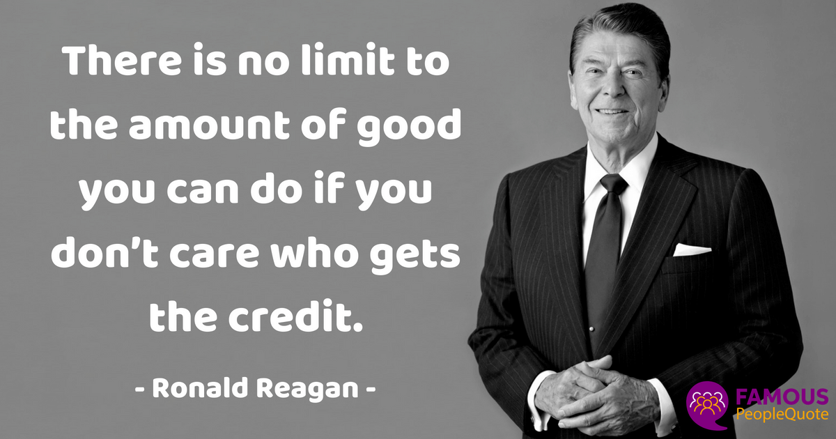 Ronald Reagan Quotes On Leadership Freedom And Success Ronald Impressive Ronald Reagan Love Quotes
