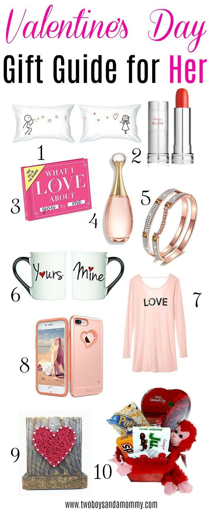 Valentine\'s Day Gift Guide For Her - Mom, Wife, Girlfriend, any ...