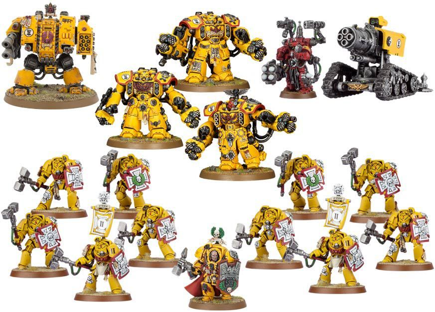 Imperial Fists 1 Click Collection Game Workshop