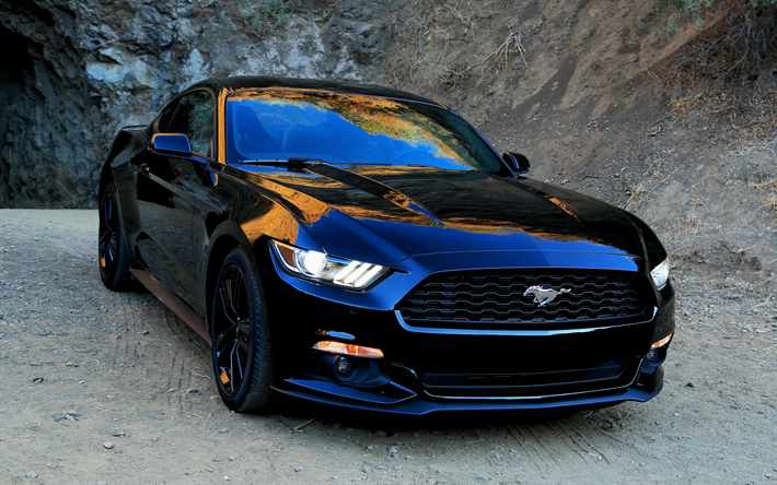 Imagenes De Autos Deportivos Para Fondo De Pantalla En 3d: Descargar Fondos De Pantalla Ford Mustang, El Auto