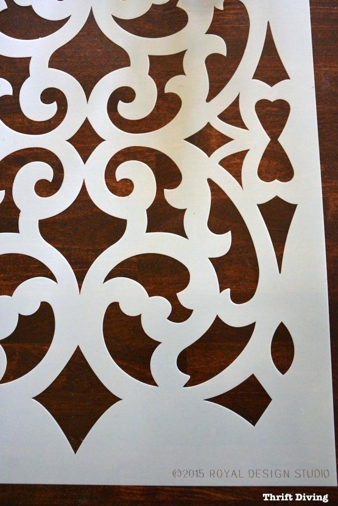 how to use stencils on furniture and walls wood patterns burning ideas #burnedwoodstenciling